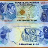 FILIPINE- 2 PISO ND 1978- P 159- UNC!! - bancnota asia