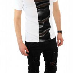 Tricou - tricou barbati - tricou slim fit - tricou fashion - 6283P9, Marime: S, M, L, XL, Culoare: Din imagine, Maneca scurta