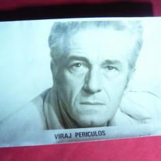 Fotografie din Filmul - Viraj Periculos cu Sergiu Nicolaescu , dim.= 18x12 cm