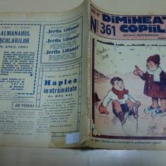 Dimineata copiilor/ nr. 361/ Nicolae Batzaria - Reviste benzi desenate