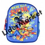Ghiozdan pentru copii cu Mickey Mouse in format 3D
