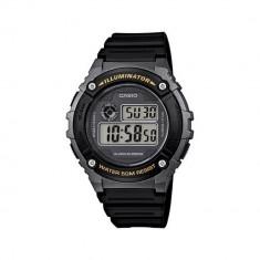 Ceas Casio barbatesc cod W-216H-1BVDF - pret 169 lei (NOU; ORIGINAL) - Ceas barbatesc Casio, Sport, Quartz, Cauciuc, Alarma, Electronic