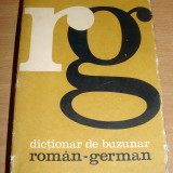Dictionar de buzunar german - roman