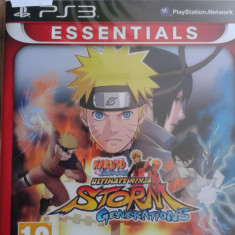 vand jocuri ps3,playstation 3, nou,NARUTO ULTIMATE NINJA STORM GENERATIONS