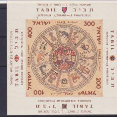 Zodiac, expo, Israel. - Timbre straine, Nestampilat