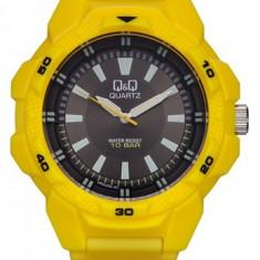 Ceas Q&Q barbatesc cod VR54J004Y - pret 99 lei (NOU; ORIGINAL) - Ceas barbatesc Q&Q, Sport, Quartz, Cauciuc, Analog