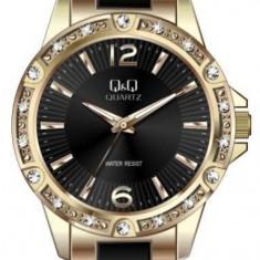 Ceas Q&Q dama cod F533J002Y - pret 169 lei (NOU; ORIGINAL) - Ceas dama Q&Q, Elegant, Quartz, Analog, Diametru carcasa: 38