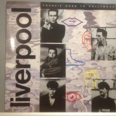 FRANKIE GOES TO HOLLYWOOD - LIVERPOOL (1986/ZTT REC/ RFG) -Vinil/Vinyl/impecabil - Muzica Pop emi records