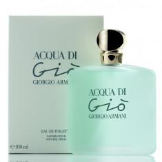 PARFUM ACQUA DI GIO 100 ML --SUPER PRET, SUPER CALITATE! - Parfum femeie Armani, Apa de toaleta