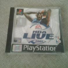 NBA LIVE 2001 - PS1 ( GameLand ) - Joc PS1, Sporturi, Multiplayer, 3+