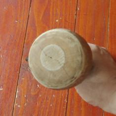 Scule / unelte - Mai din lemn pentru tamplarie / sculptura - ciocan de sculptat - Metal/Fonta