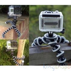 Trepied flexibil cu adaptor Gopro 2 3 3+ 4