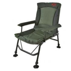 Scaun robust cu brat Carp Zoom CZ7895 Cu Talpici Anti-Alunecare 55x55x43/103 - scaun camping