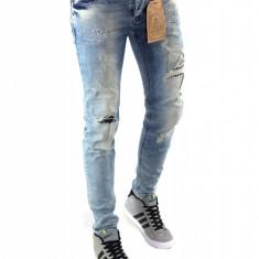 Blugi tip Zara fashion - blugi barbati blugi conici CALITATE GARANTATA cod 6268, Marime: 30, 31, 32, 33, Culoare: Din imagine
