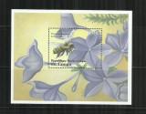 FL 8   - FLUTURI     -  CONGO   -  COLITA   NESTAMPILATA