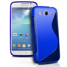Husa Samsung Galaxy J1 J100 TPU S-LINE Blue - Husa Telefon Samsung, Albastru, Gel TPU, Fara snur, Carcasa