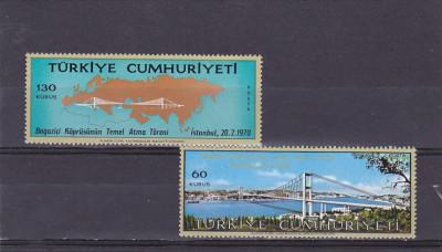 Constructii ,poduri ,inaugurare pod Asia Europa peste Dardanele ,Turcia. foto