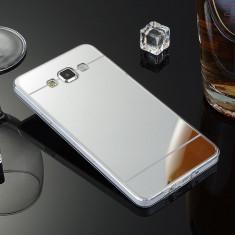 Husa Samsung Galaxy Grand Prime G530H TPU Mirror Gold - Husa Telefon Samsung, Transparent, Gel TPU, Fara snur, Carcasa