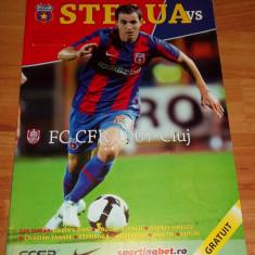 Program meci Steaua - CFR Cluj 2009