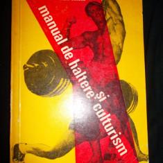 Manual de haltere si culturism, Lazar Baroga