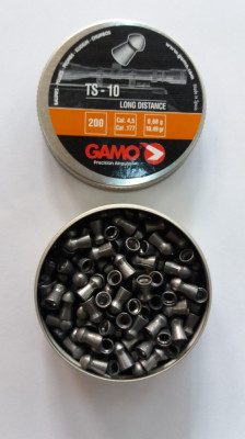pelete/alice aer comprimat  cal 4,5 mm TS-10 long distance foto