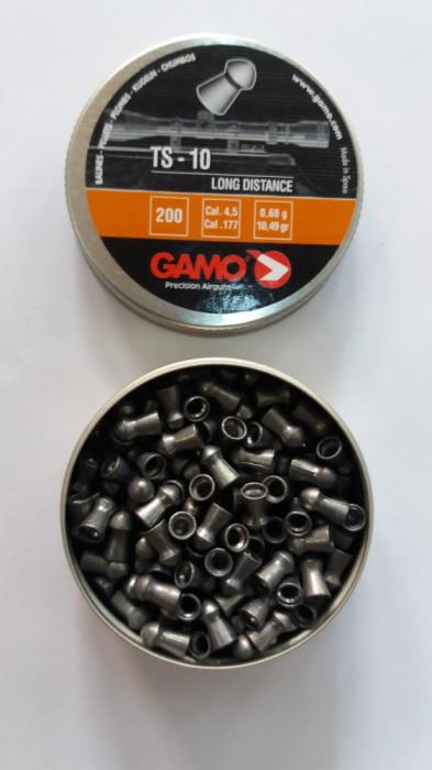 pelete/alice aer comprimat  cal 4,5 mm TS-10 long distance