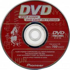 GPS-DVD - Pioneer AVIC-D3 - Europa de Est (2007) Backup DVD - Software GPS