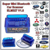Interfata Diagnoza Universal Super Mini Elm327 bluetooth OBD2,Versiunea V2.1!