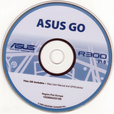 GPS-DVD instalare ASUS Go R300 (2007) Backup DVD - Software GPS