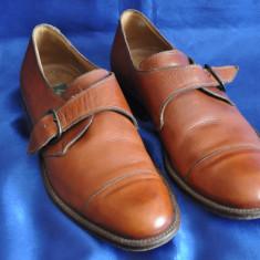 Pantofi barbati Lacoste vintage din piele. SALVATELLI, Made in Italy. Marimea 40, Culoare: Maro, Piele naturala