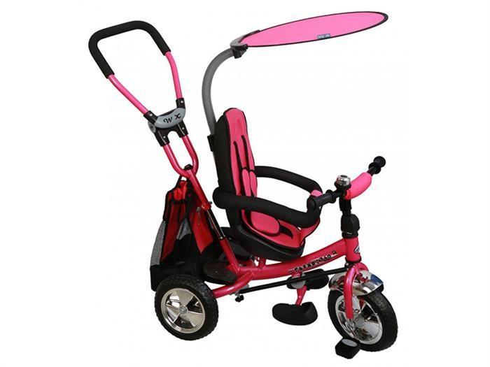 Tricicleta Copii Cu Scaun Reversibil Baby Mix Safari Ws611 Pink foto mare