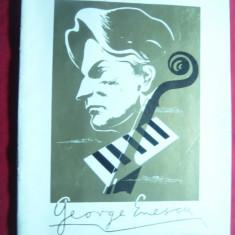 Program - Al IV-lea Festival International G.Enescu 1967, 15 pag. - Reclama Tiparita