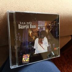Cd album B.U.G. Mafia - Baietii buni (2003) ! aproape NOU - Muzica Hip Hop cat music