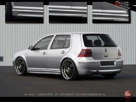Praguri laterale Golf 4 < XR > - VW-GO-4-XR-S1 foto