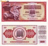 IUGOSLAVIA, 100 DINARI 1978, UNC