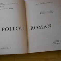 POITOU - CARTE DE ARHITECTURA - IN FRANCEZA