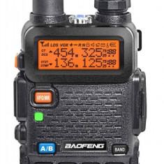 Walkie Talkie Transceiver Baofeng UV-5R Dual Band statie, garantie - Statie radio