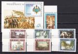 Guineea  Bissau  1989  PHILEXFRANCE   revolutie  MI 1057-1063 +bl.279  MNH  w30