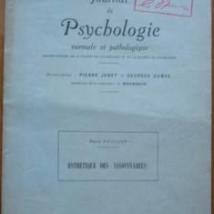 Henri Focillon , Jurnal de psihologie , 1926 , autograf catre George Oprescu