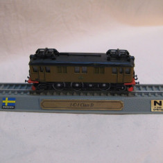 Macheta locomotiva 1-C-1 Class D scara 1:160 - Macheta Feroviara, N, Locomotive