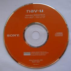 GPS-CD instalare pentru Navigator GPS SONY Nav-U, NV-U73T, NV-U83T - Software GPS