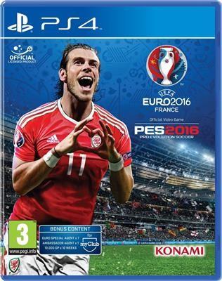 Uefa Euro 2016 And Pro Evolution Soccer Ps4 foto