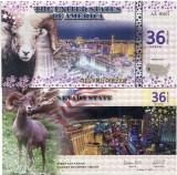 STATELE UNITE ALE AMERICII(NEVADA)- 36 DOLLARS 2016- UNC!!
