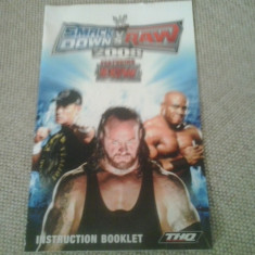 Manual - WWE Smack Down vs RAW 2008 featuring ECW - PS2 ( GameLand ), Alte accesorii