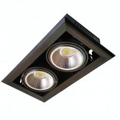 Spot LED AR111 2x23W + Suport 5000K - Bec / LED