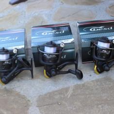 Set 3 Mulinete Besd TE-304 Ideala La Orice Tip de Pescuit + Guta Cadou - Mulineta, Lansat, stationar