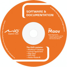 GPS-DVD instalare MIO Moov-S (2009) Backup DVD - Software GPS