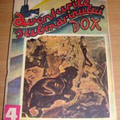 Aventurile Submarinului DOX / Sticla Plutitoare - Hans Warrem Nr. 4