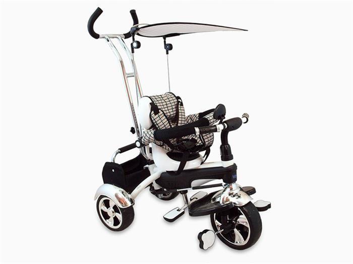 Tricicleta Copii Baby Mix Gr01 White foto mare