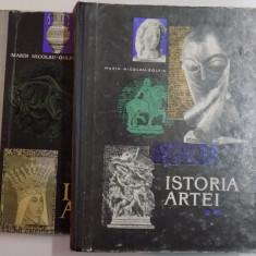 ISTORIA ARTEI, 2 VOL.-MARIN NICOLAU-GOLFIN, 1975 - Carte Istoria artei
